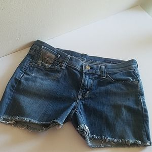 Citizens of Humanity Women's Cut Off Shorts